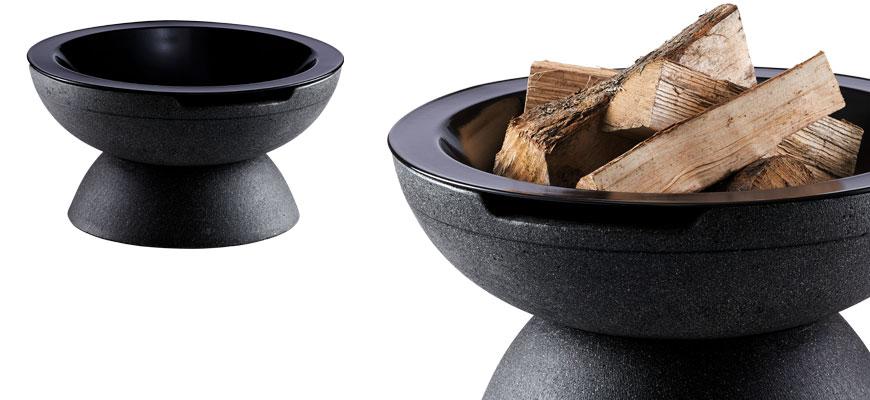 Feuerschale Round anthrazit